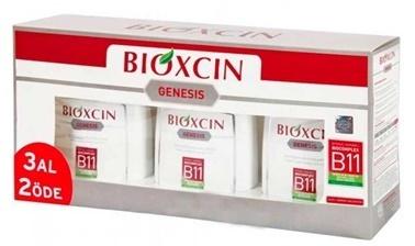 Bioxcin BIOXCIN Genesis Şampuan 300 ml 3 AL 2 ÖDE - Kuru ve Normal Saçlar Renksiz